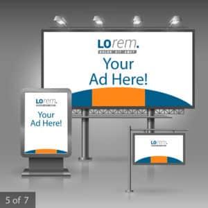 panneaux publicitaires autocollant imprimerie